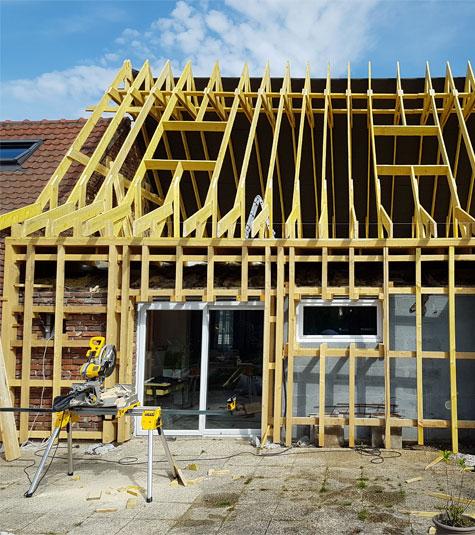 Construction De Maisons Individuelles à Ossature Bois à Lille Nord